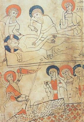 Shroud of turin PrayManuscript