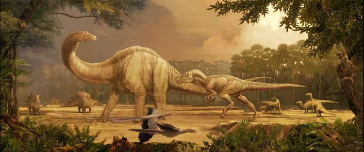 Dinosaurier Radiokarbon-Dating